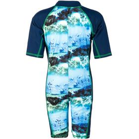 Color Kids Tayac AOP UPF Suit Kids estate blue